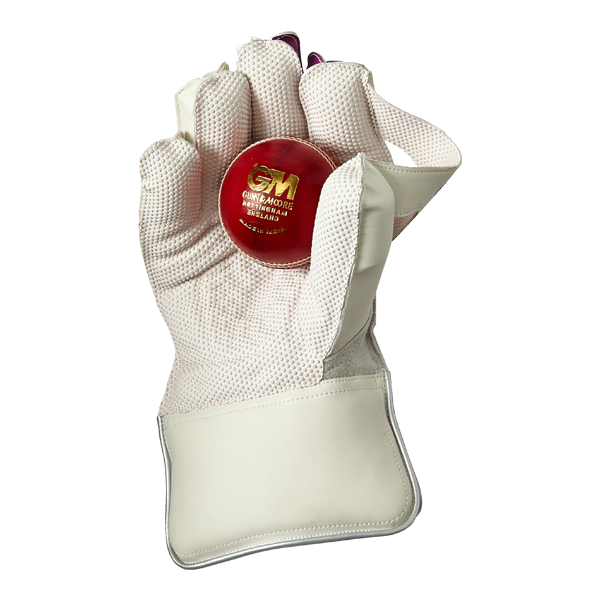 how to clean wicket keeping gloves